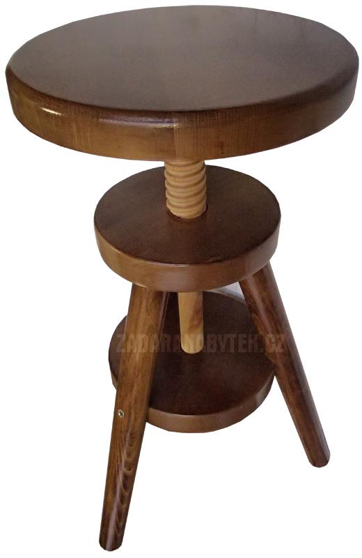 Otočná židle k pianu KT243 masiv - buk