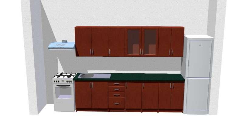Kuchyně Tina Kalvádos 260 cm