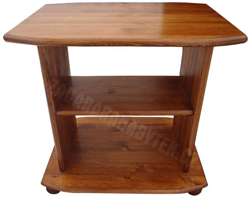 Televizní stolek RV110 masiv - borovice