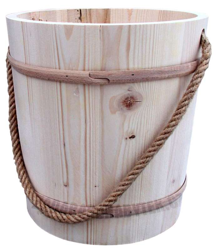 Dřevěný džber GD240