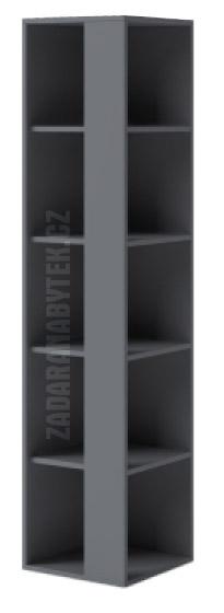 Rohový regál IKS X07