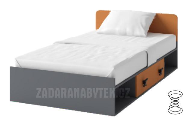 Dětská postel s matrací IKS X16