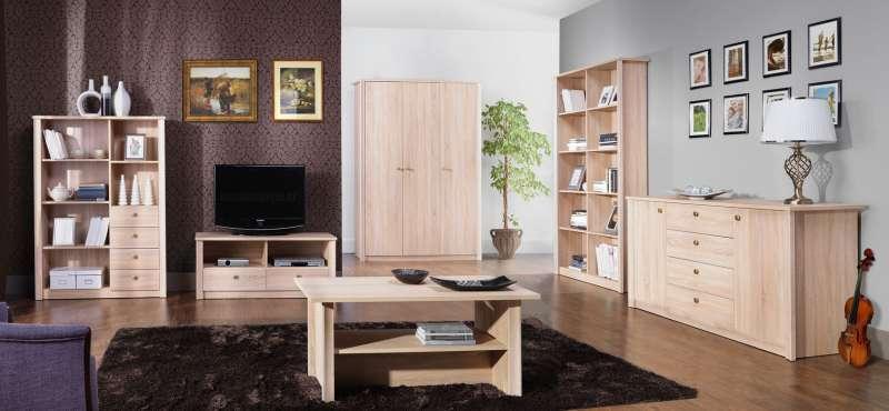 Finezja - moderní ložnice a obývací pokoj | Zadara nábytek.cz