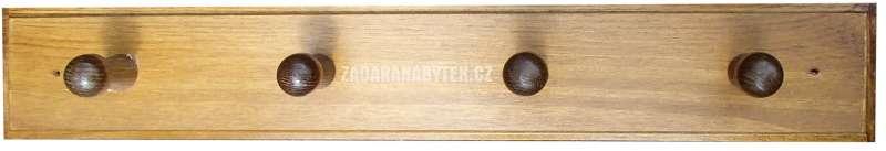 Věšák na šaty WS162 masiv - borovice