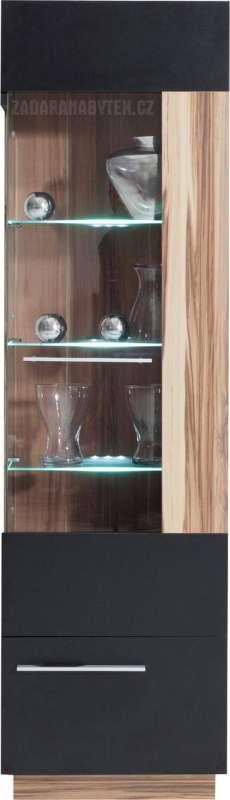 Skříň vitrína Monsun MN2P