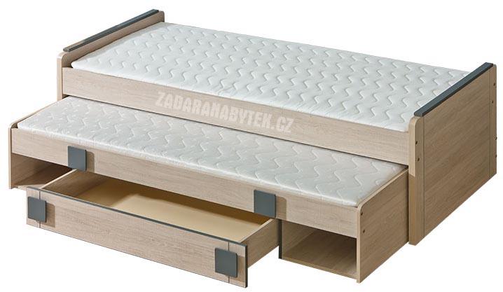 Dětská postel s přistýlkou Gumi G16