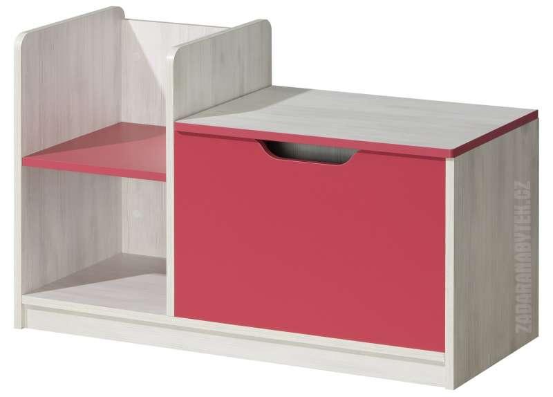Dětská skříňka s policemi Nuki NU3