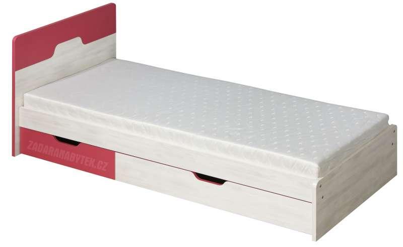 Dětská postel s úložným prostorem Nuki NU5