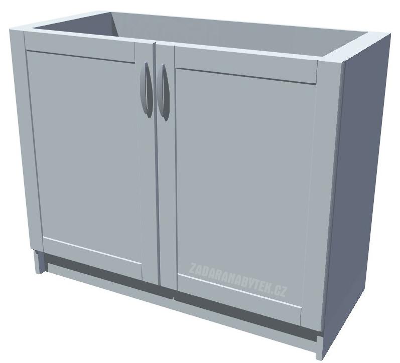 Dřezová kuchyňská skříňka Diana 100 2D