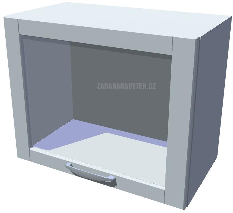 Skříňka nad digestoř vitrína 50 cm