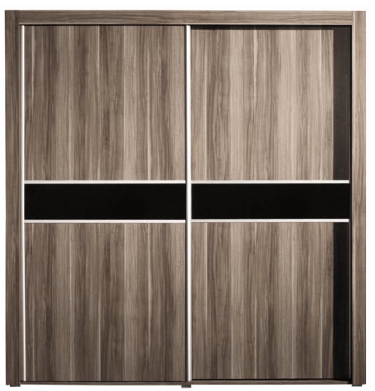 Šatní skříň Margo 2D s posuvnými dveřmi