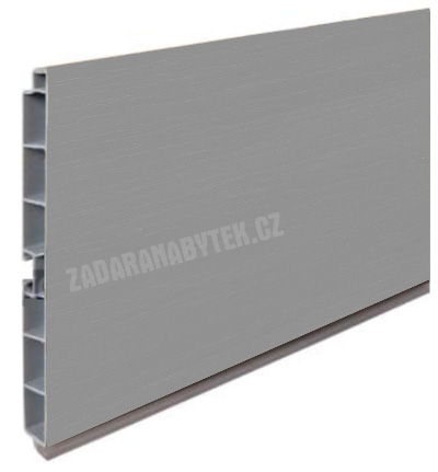 Kuchyňský sokl plastový aluminium 1 - 4 metry