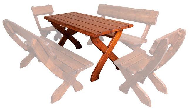 Zahradní stůl MO230 smrk