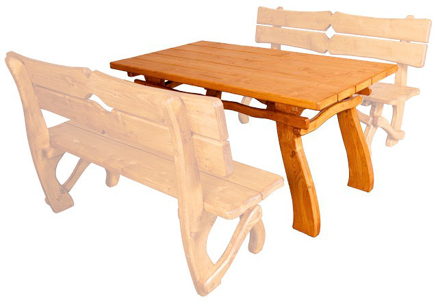 Zahradní stůl MO241 smrk