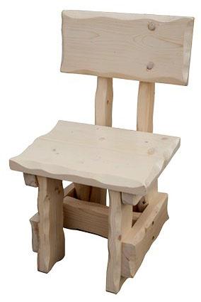 Smrková zahradní židle MO267