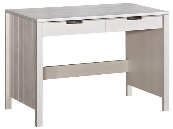 Bílý dřevěný psací stůl pro děti Bella 6