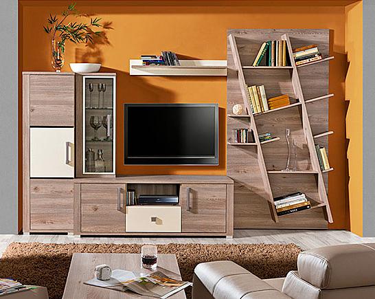 Lesklá obývací stěna Verto V36