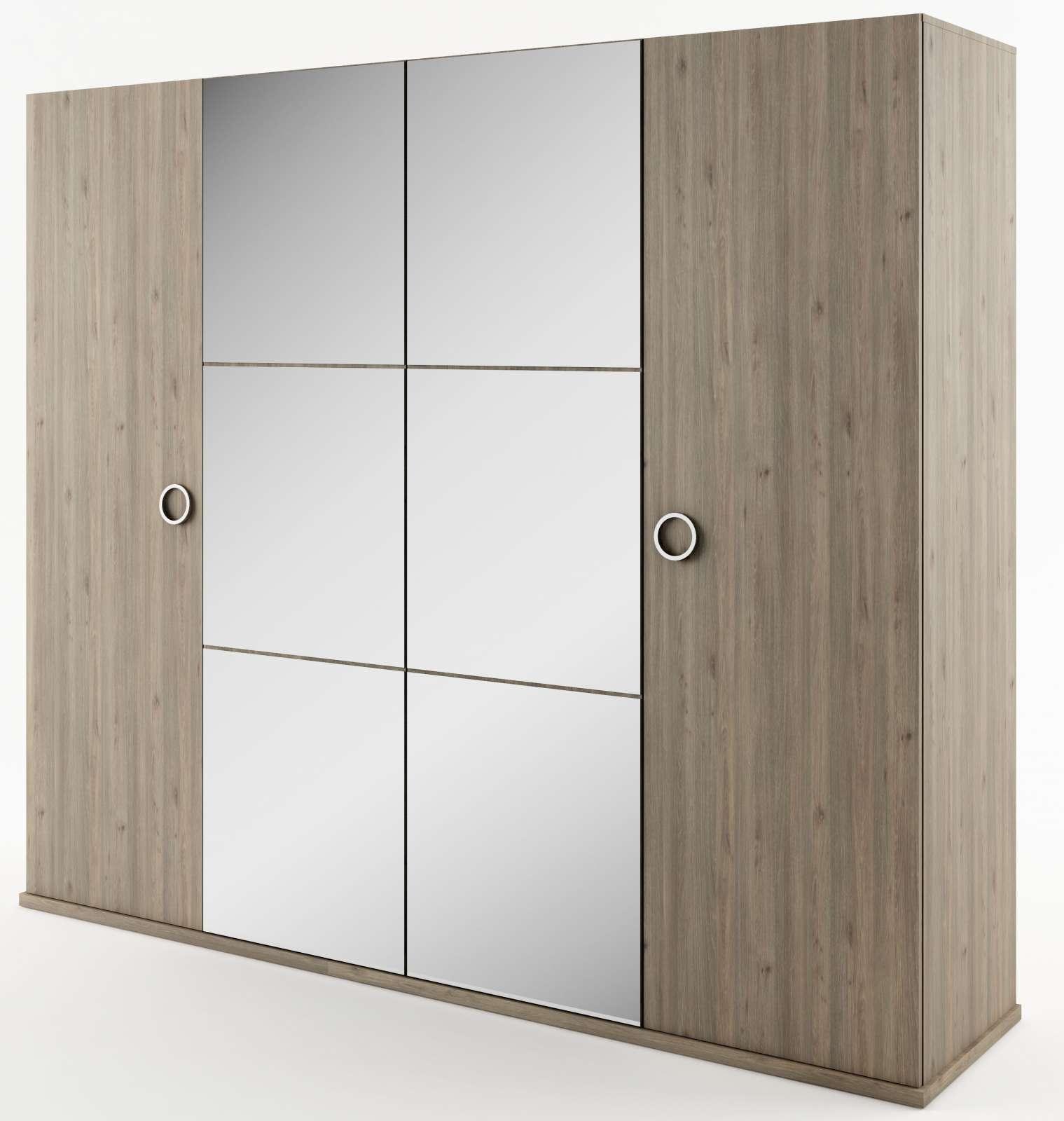 Šatní skříň se zrcadli do ložnice Roma RO02