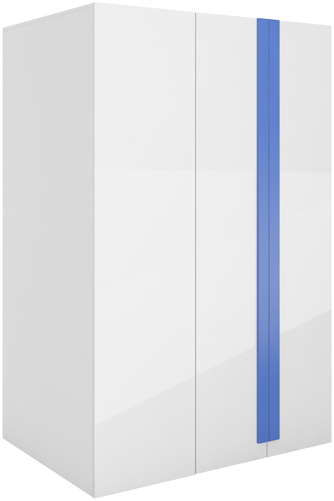 Rohová šatní skříň s osvětlením levá/pravá Yeti Y00