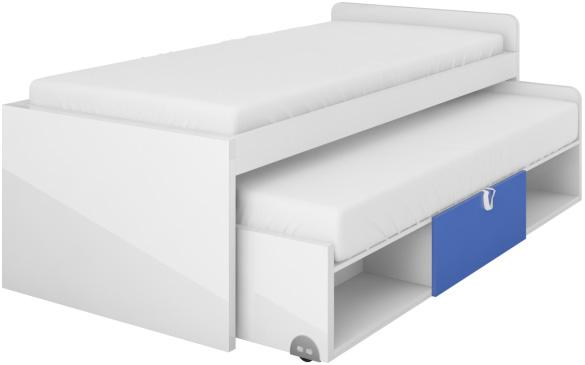 Dolní postel s matrací Yeti Y15