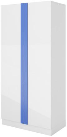 Dvoudvéřová šatní skříň Yeti Y18