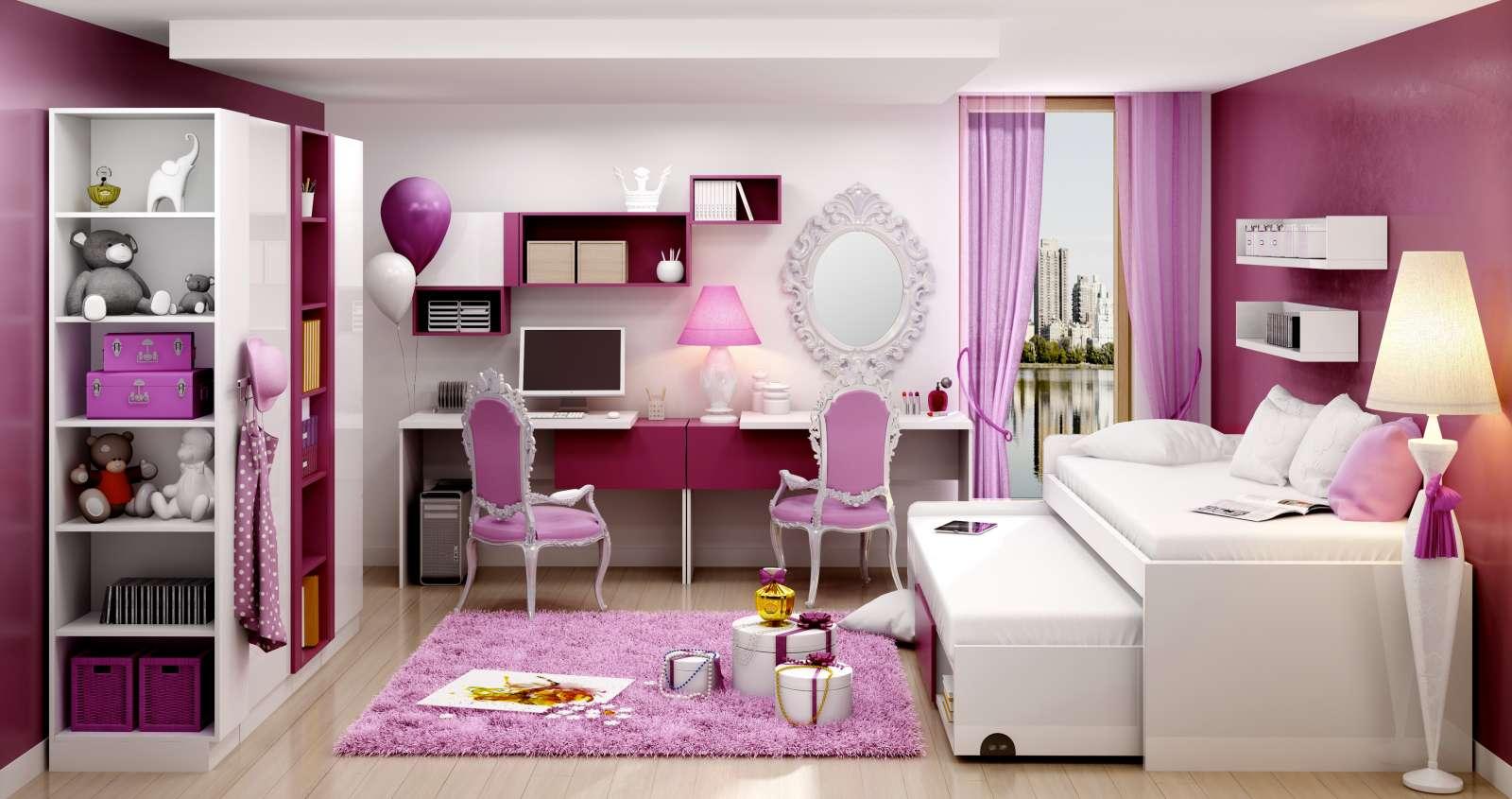 Sestava nábytku do dívčího pokojeYeti Y2