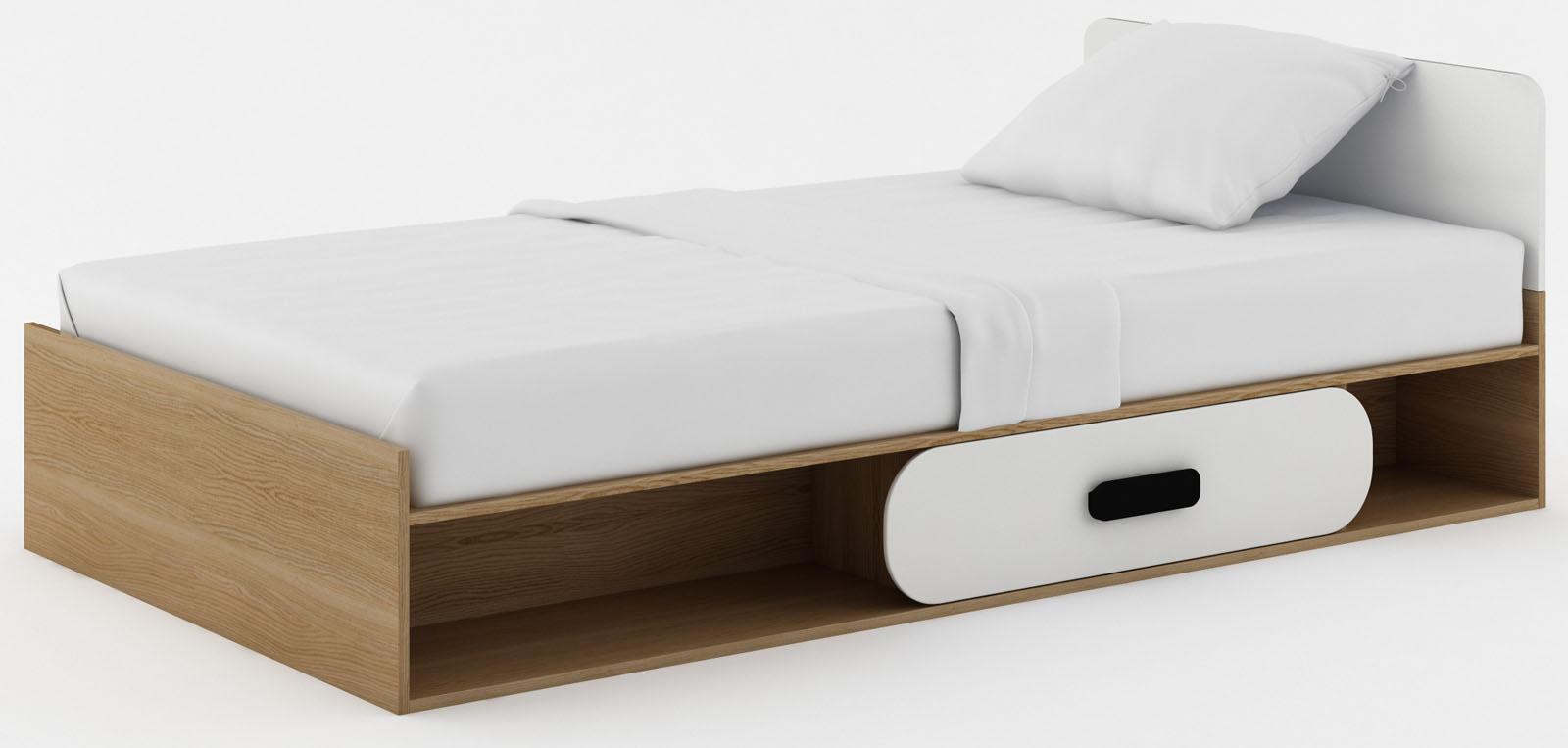 Dětská postel s úložným prostorem Gusto G12