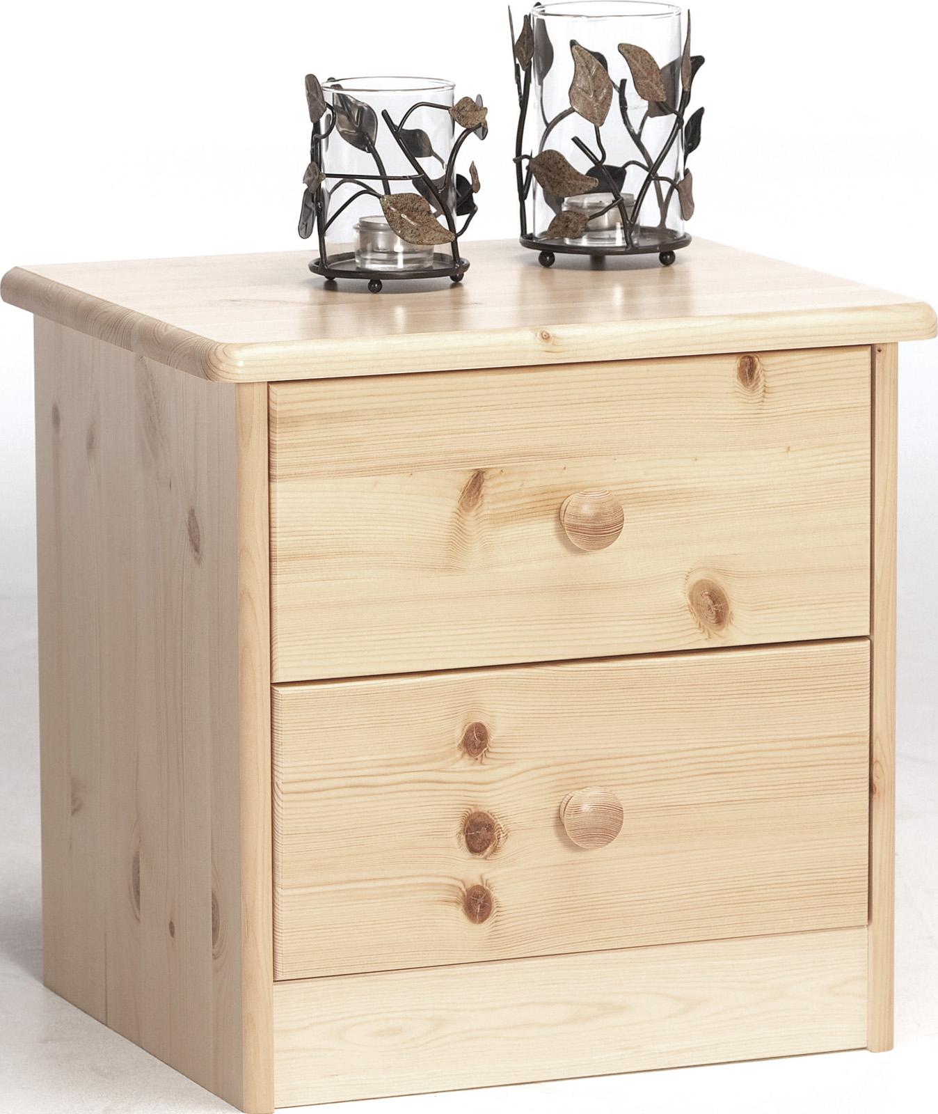 Noční stolek z borovice Mario 002