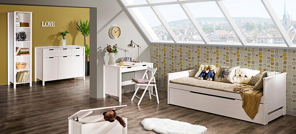 Dřevěný dětský pokoj Bella 2