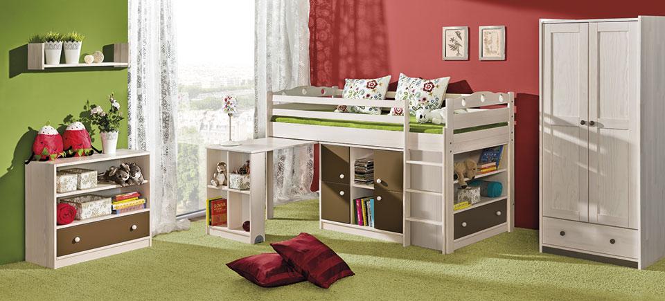 Dřevěný dětský pokoj Kamil