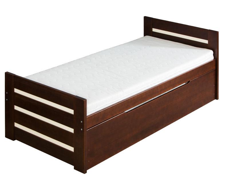 Dřevěná dětská postel s přistýlkou Dawid