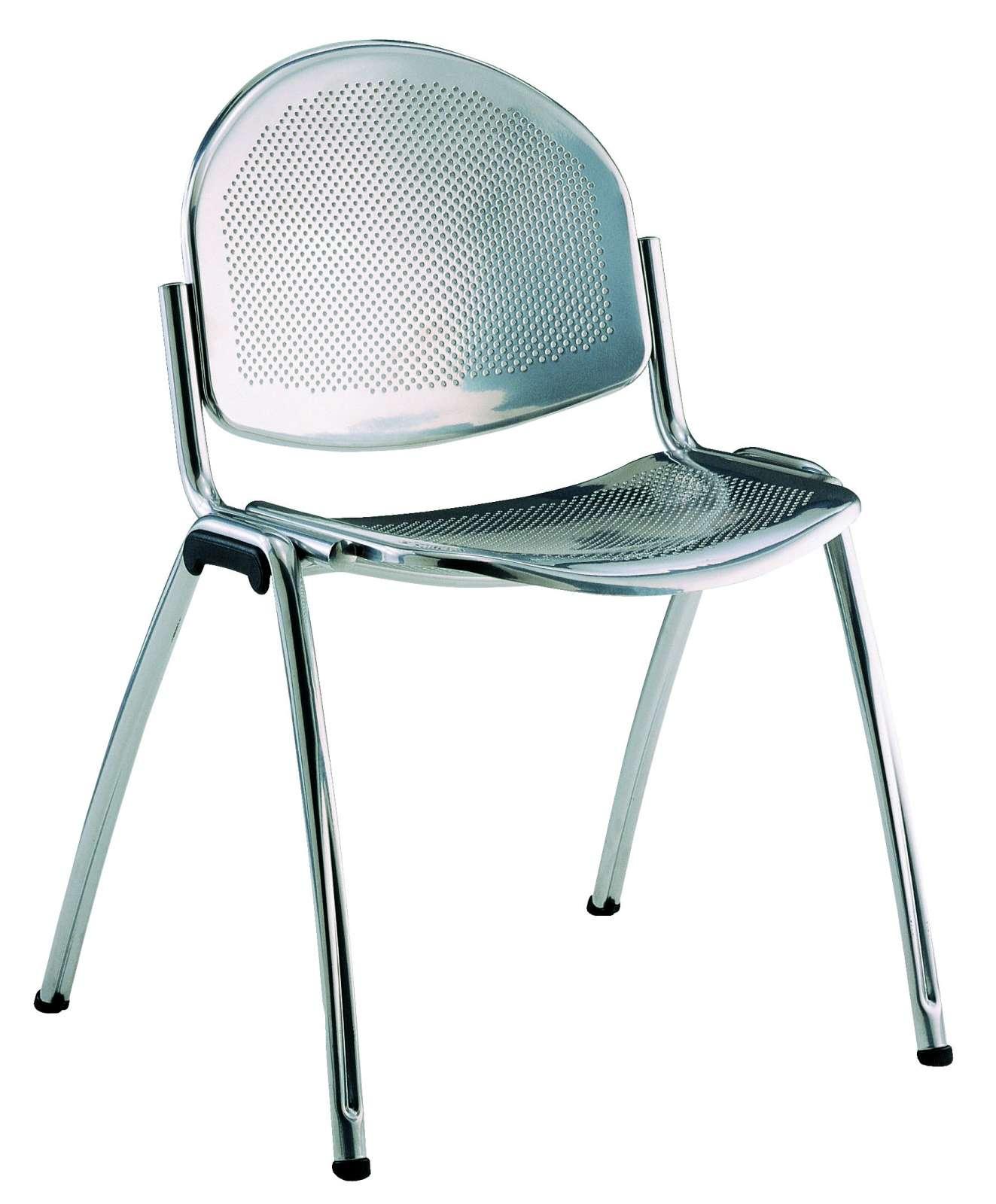 Konferenční židle Star celokovová