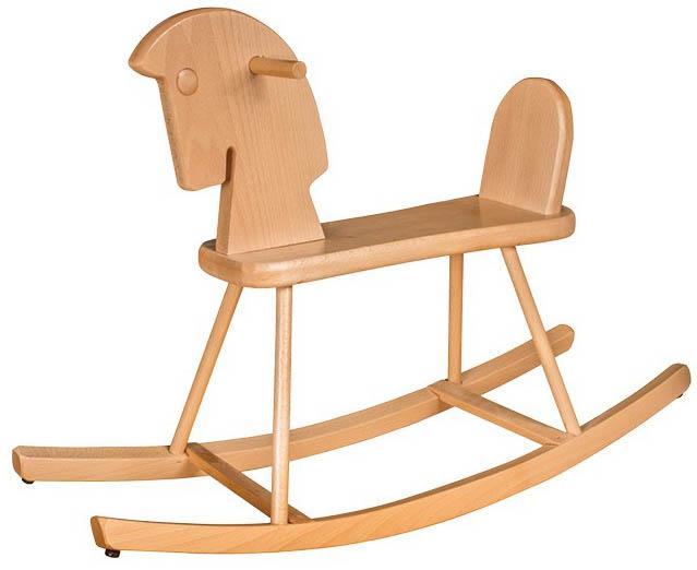 Dřevěný houpací koník AD259