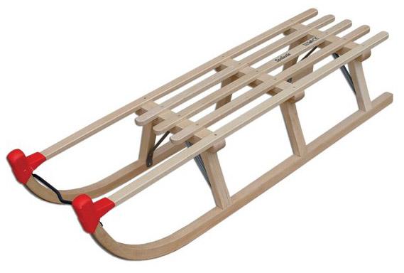 Dřevěné sáně AD2401 - 110 cm
