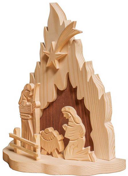 Dřevěný Betlém GD503