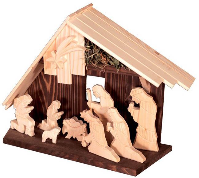 Dřevěný Betlém GD507