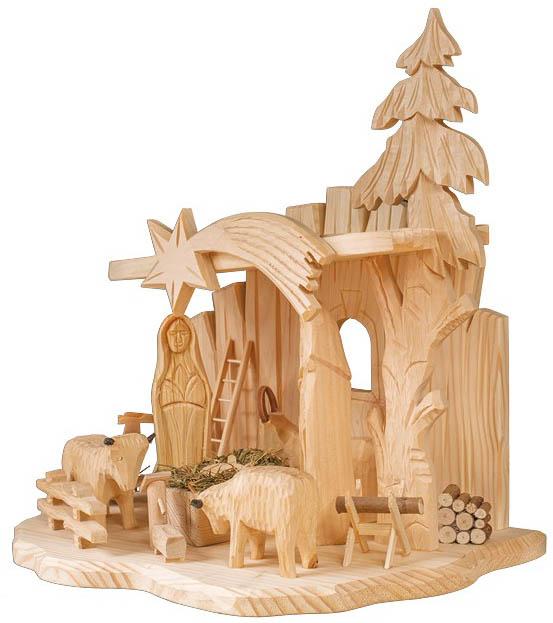 Dřevěný Betlém GD509
