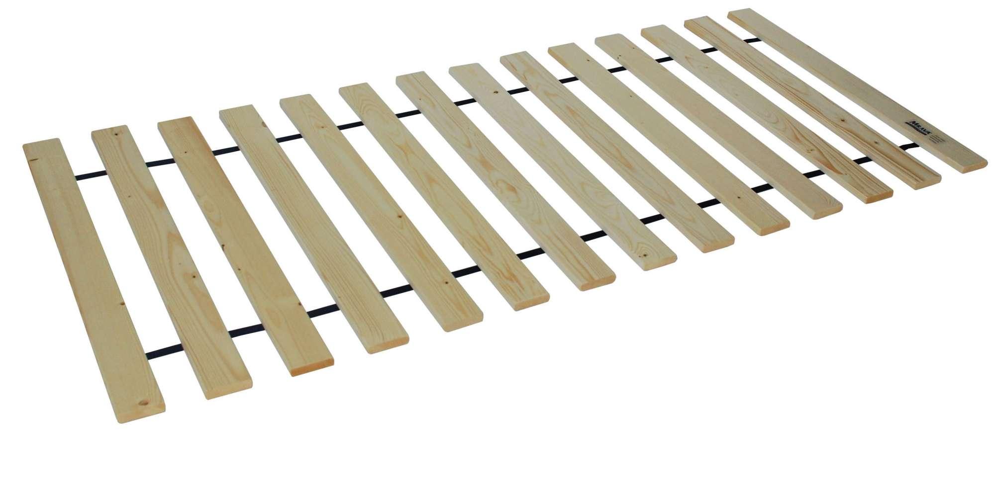 Rolovací rošt do postele 120 x 200 cm Masiv rolo 14L