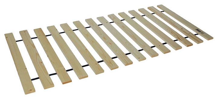 Rolovací rošt do postele 100 x 200 cm Masiv rolo 15L