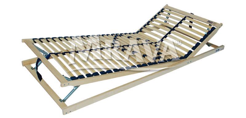 Speciální lamelový rošt 120 x 200 cm nosnost do 150 kg Double maxi HN T8