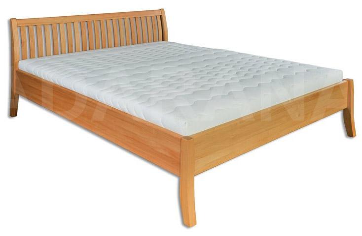 Dřevěná manželská postel - buk 180 cm
