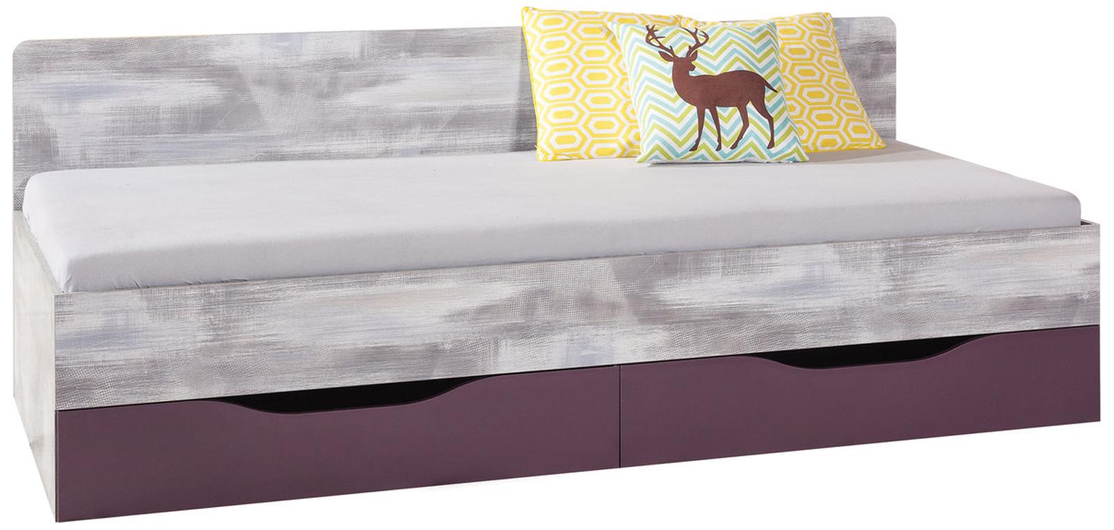 Dětská postel s úložným prostorem Zaka 12A