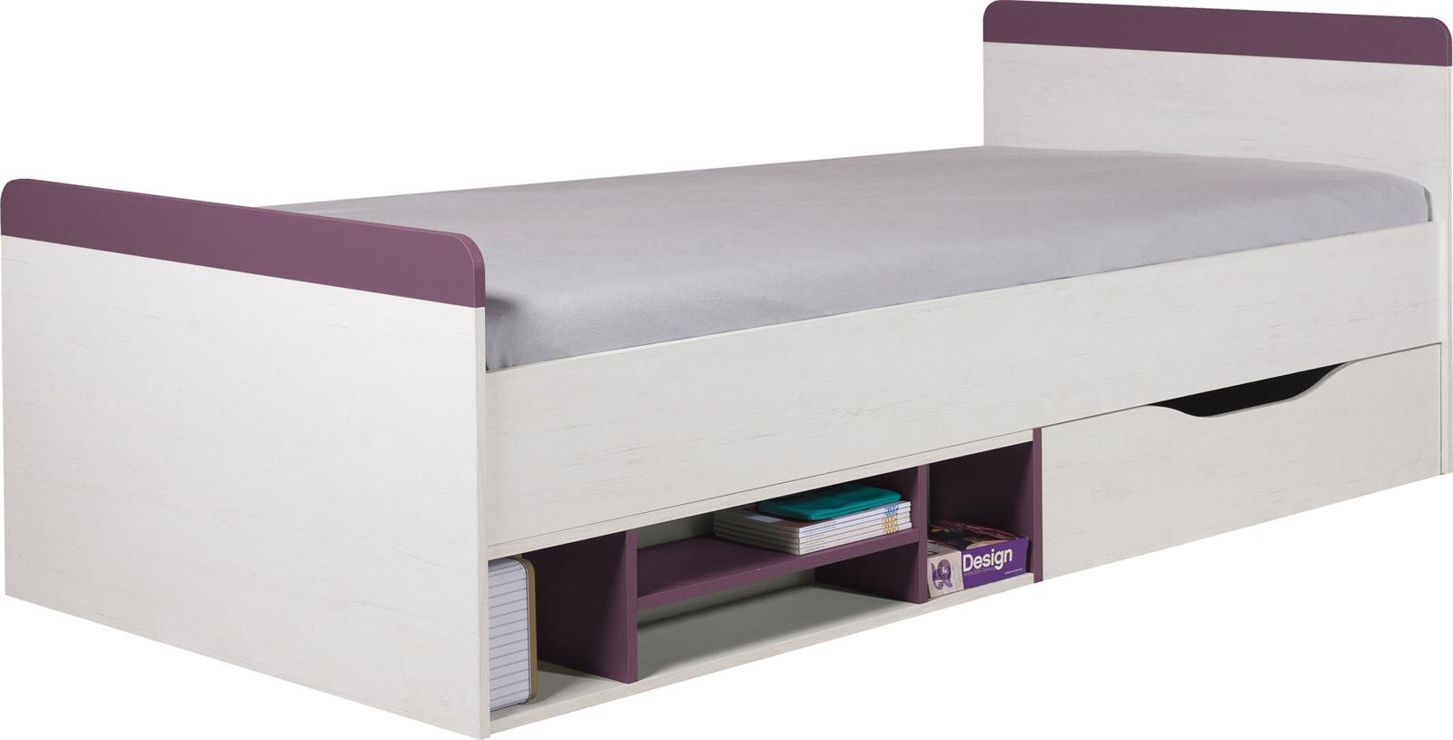 Dětská postel s úložným prostorem Slalom 14