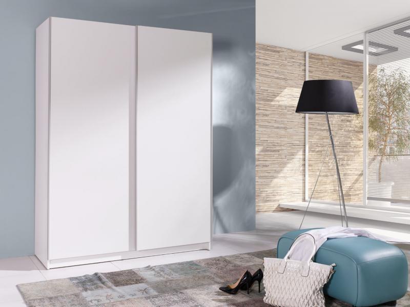 Šatní skříň s posuvnými dveřmi Bambo 1 bílá