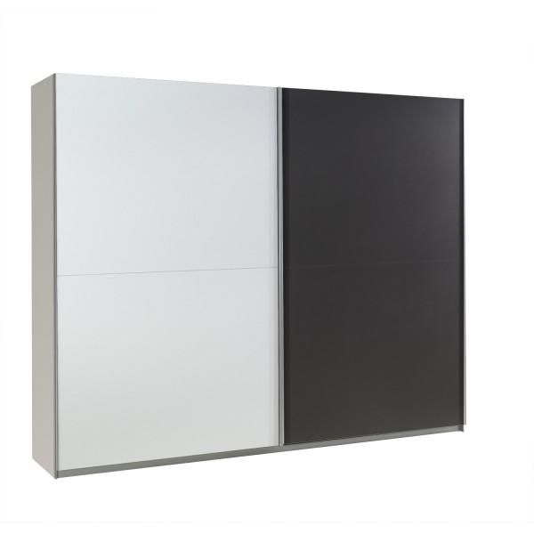 Šatní skříň Lux 20 s posuvnými dveřmi