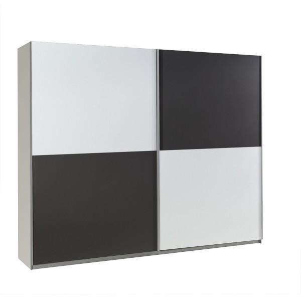 Šatní skříň Lux 21 s posuvnými dveřmi