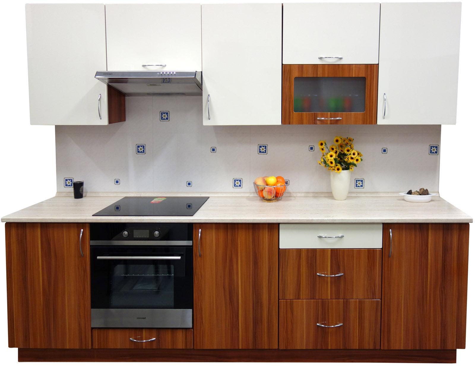 Kuchyňská linka 270 cm vysoký lesk