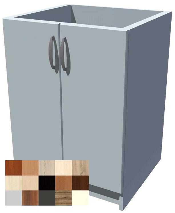 Dřezová kuchyňská skříňka Tina 2D 60 cm