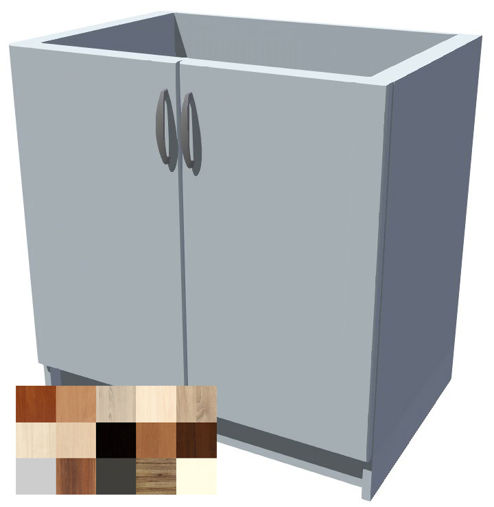 Dřezová kuchyňská skříňka Tina 2D 80 cm
