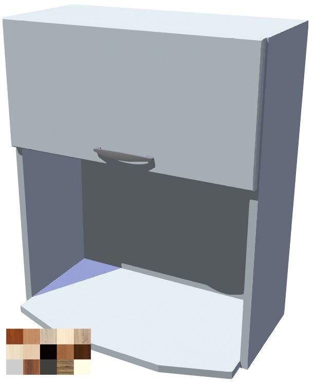Skříňka na mikrovlnku - výklop Tina